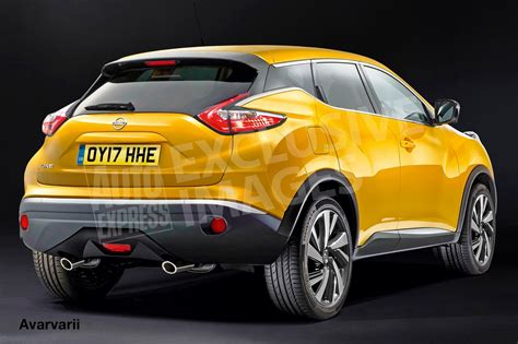 nissan juke 2018 nissan to offer next gen juke with a 1l turbo petrol engine