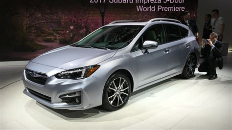 saabaru sedan 2017 subaru impreza sedan and hatch debut at york auto