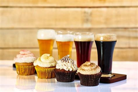 beer cupcakes flavor inspiration how to pair alcohol with cake