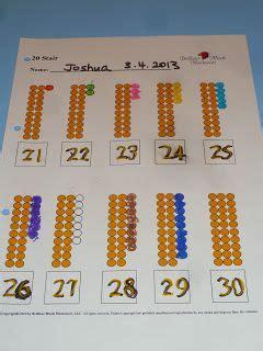 montessori beads printable 17 best images about mathematics montessori materials on