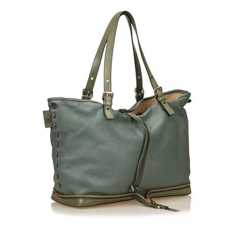 Allison Burns East West Shoulder Bag by Blue Leather Shoulder Bag For Sale At 1stdibs
