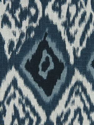 navy blue and white upholstery fabric navy blue ikat upholstery fabric indigo blue ikat linen