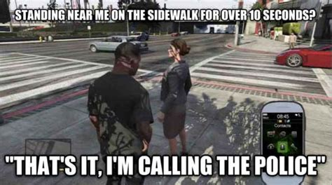 Funny Gta 5 Memes - 36 funny exles of video game logic smosh