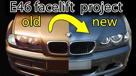 Panel Grill Bmw E36 Facelift how to facelift a bmw e46