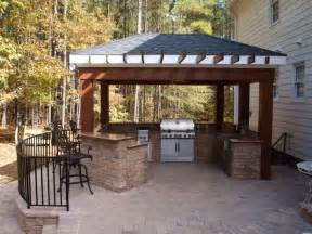 outdoor kitchen bar hardscapes outdoor kitchens pinterest