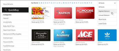 What Gift Cards Does Hannaford Sell - cardcash gift card exchange buy sell and trade gift autos post