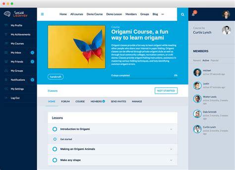themes wordpress e learning social learner learndash on buddypress
