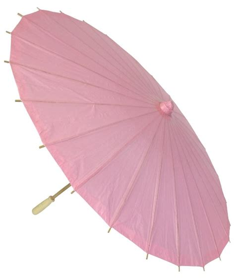 paper umbrella tattoo 34 quot paper parasol baby pink