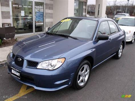 black subaru 2007 2007 newport blue pearl subaru impreza 2 5i sedan
