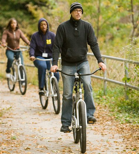 Um Flint Named A Bicycle by Memorial Bike Ride To Honor Um Flint Theatre Professor