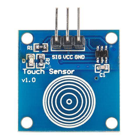 Sensor Sentuh Kapasitif Ttp223 Touch Sensor electronics sensors touch ttp223b digital touch sensor capacitive touch switch module