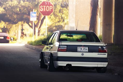 volkswagen gli stance no part left behind clay hundley s mk2 gli stance works