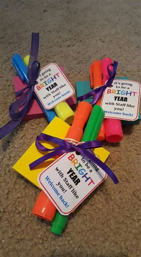 5 inexpensive back to school gifts for teachers 25 best welcome back gifts ideas on welcome