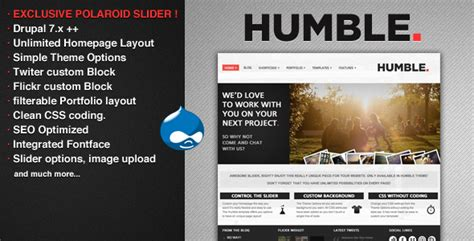 drupal theme item list drupal theme item list humble drupal theme themekeeper com