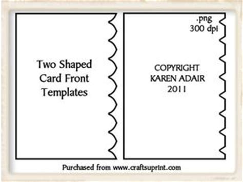 free shaped card templates to scallop edged border shapes templates cup178082 168