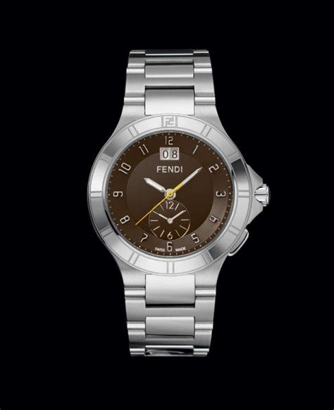 Dual Time Zip Code By Fendi by Fendi High Speed Dual Time Collection