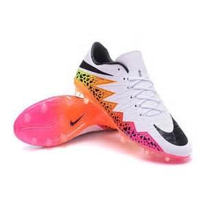 Nike Flywire Football Cleats Nike Hypervenom Phantom Fg Acc Neymar Shoes White Pink Black