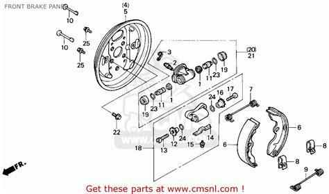 1988 honda trx 125 wiring diagram honda trx 125 repair