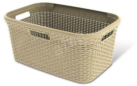 Curver Rattan Laundry Basket 45 Litres 00708 885 Laundry Curver Laundry