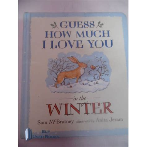 Guess How Much I You In The Winter By Sam Mc Bratney Jeram board books guess how much i you in the winter used book for best price in india