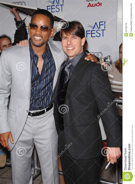 Will Smith Turned Tom Cruises Invite To Be A Scientologist by Tom Cruise Will Smith Editorial Photo Image 24199176