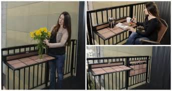 superb Affordable Space Saving Furniture #5: Wooden-Foldable-Balcony-Table-for-Small-Spaces.png