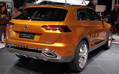 volkswagen crossblue volkswagen crossblue coupe concept first look motor trend