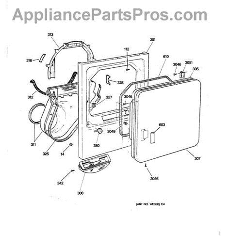 ge dryer parts diagram ge dryer model dbxr463ed1ww wiring diagram 42 wiring