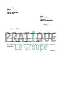 Lettre De Résiliation Vinci Autoroute Lettre De R 233 Siliation Aprr Pratique Fr