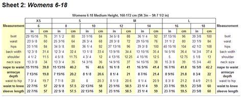 pattern drafting measurement chart size 6 measurements related keywords size 6 measurements