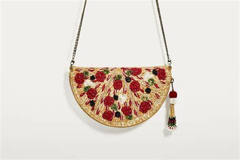 Zara Crossbody Go zara has finally released a pizza crossbody bag fashion journal