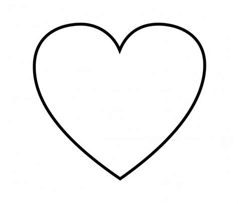 coloring page heart shape free coloring pages of shape heart
