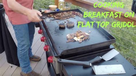 Sporting Chef TV   SCOTT LEYSATH   Flat Top Grill