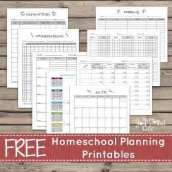 homeschool planner template homeschool planning resources free printable planning