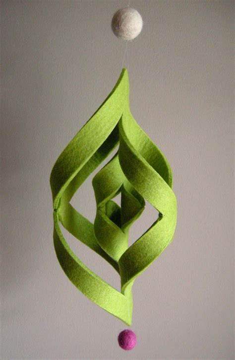 How To Make 3d Paper Ornaments - felt ogee ornament tutorial betz white