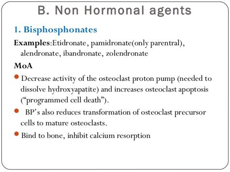 agents that affect bone mineral homeostasis paul
