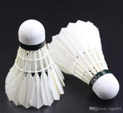 Best Seller Shuttlecock Kok Bulutangkis compre 2017 mejor vendedor de alta calidad logotipo tama 241 o c badminton shuttlecock 12 unids
