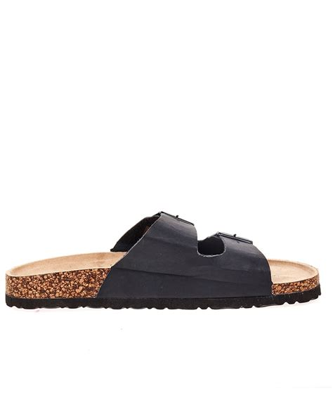 mens buckle sandals ts heritage mens black sandals two straps buckle
