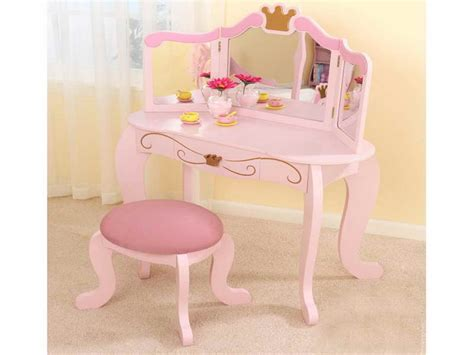 childrens vanity vanity table and stool childrens