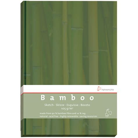 sketch book hahnemuhle hahnemuhle bamboo sketch book 10628566 b h photo