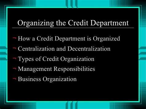 Nacm Credit Letter Credit In The Business World