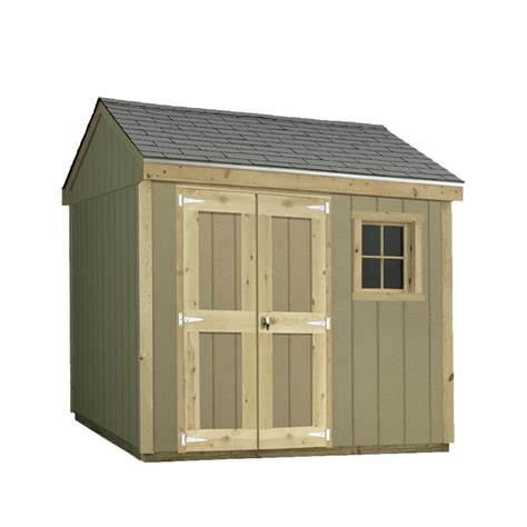 Sheds Usa Consumer Reviews by Sheds Usa Installed Hide A Way 8 Ft X 10 Ft Smart Siding Shed T0810hw The Home Depot