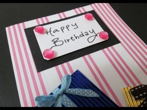 how to make a great card diy 24 birthday card