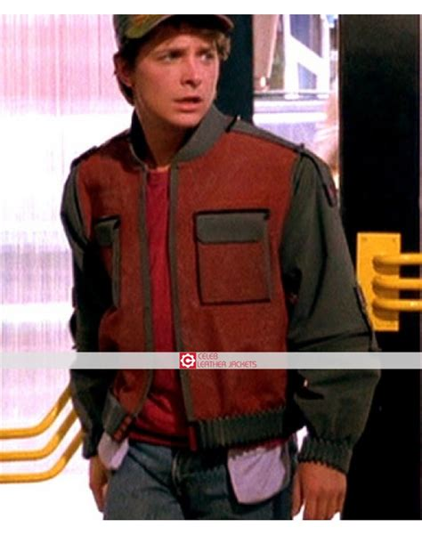michael j fox back to the future 2 marty mcfly jacket back to the future 2 michael j fox jacket