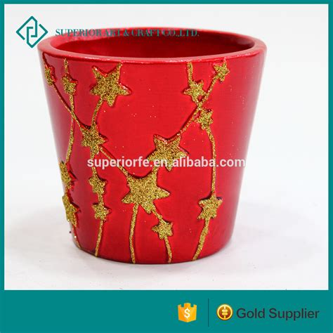 flower pot sale red fashion garden flower pot ceramic flower pot for sale