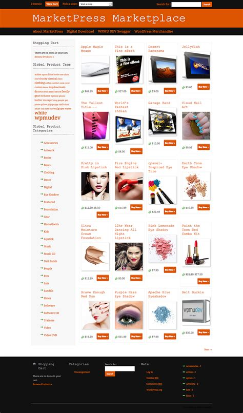 Themes Wordpress Ecommerce Free | 10 free e commerce wordpress themes 2013 dezignhd best
