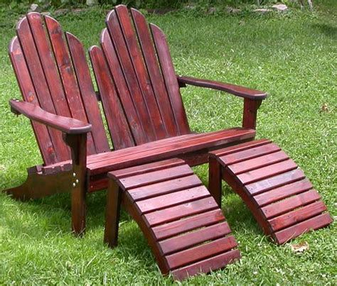 adirondack loveseat plans adirondack loveseat with table plans