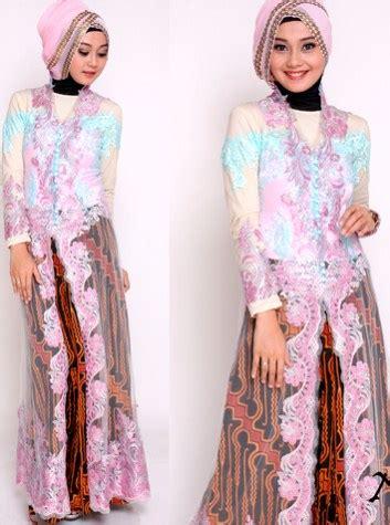 Baju Bawahan Rok Pesta 30 desain model baju kebaya muslim brokat modern pesta