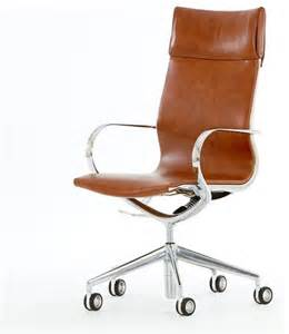 Designer Desk Chair Uk Mercury High Back Leather Office Chair Modern Office