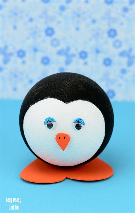 penguin craft for penguin craft for to make easy peasy and